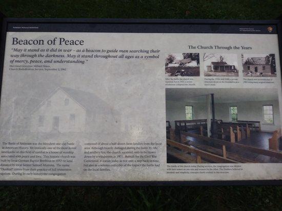 Sharpsburg, Мэриленд: Dunkards church