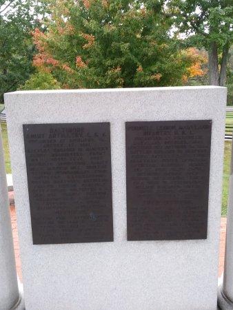 Sharpsburg, MD: Maryland monument