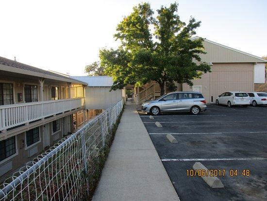 Angels Camp, Kaliforniya: Near our rooms.