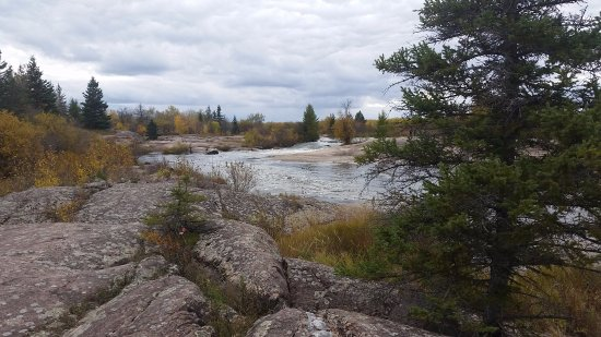 Pinawa, Kanada: Views from the Park in Fall