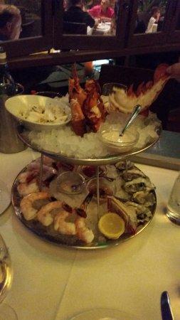 WildFish Seafood: yum seafood tower $83