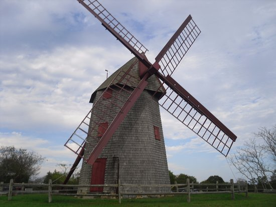 Old Mill: An old windmill