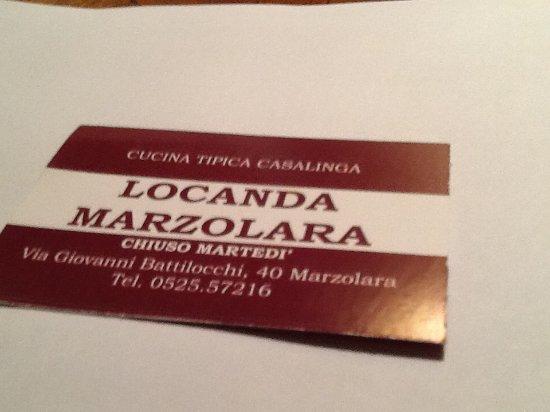 Locanda Restaurant Reviews