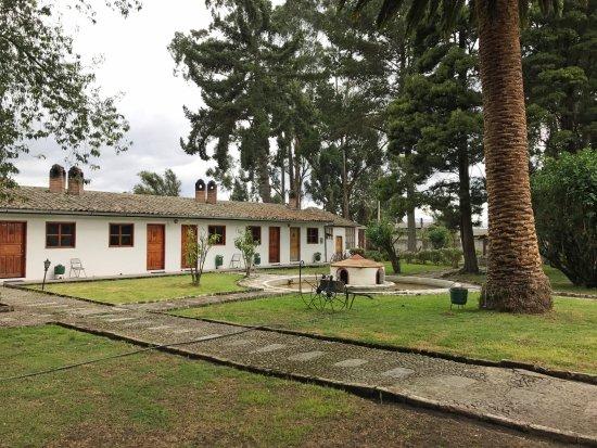 Lasso, Ecuador: outer guest accomodations