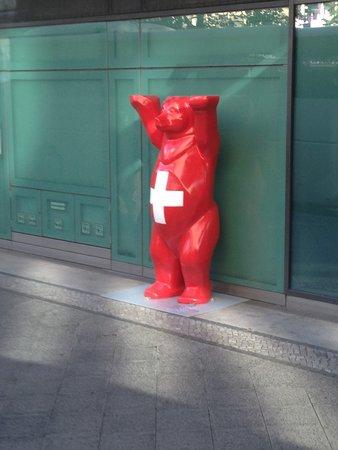 Swissotel Berlin: Entrada