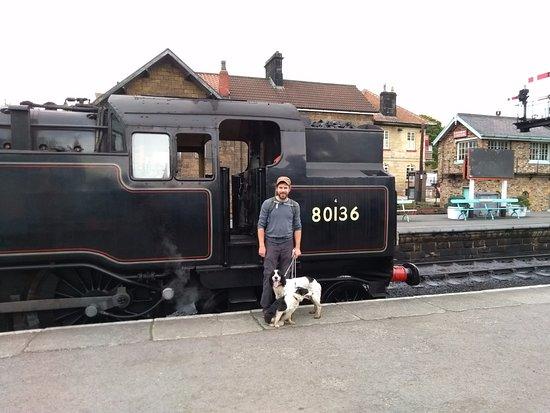 Pickering, UK: Steam train at Grosmont