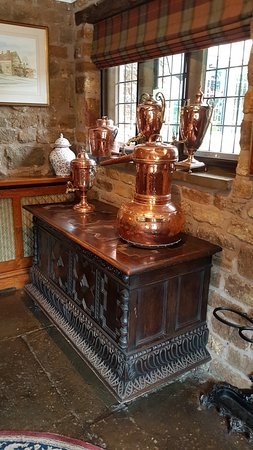 Priors Hardwick, UK : Bar area