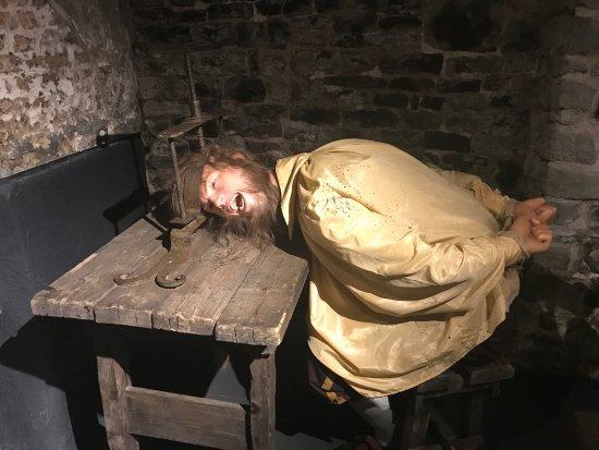 Torture Museum Oude Steen: cérebro espremido