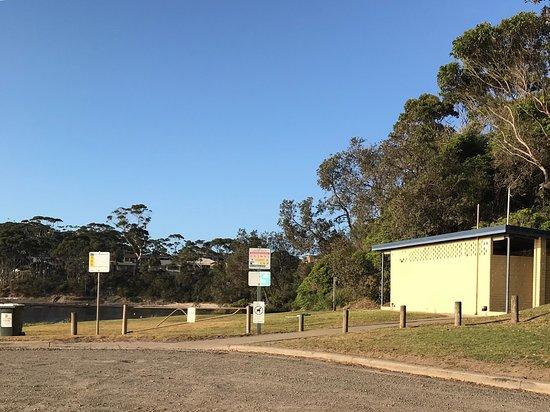 Mollymook, Australia: Public toilets