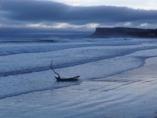 Ballycastle, UK: The Beach - late afternoon