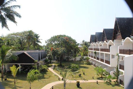 Royal Beach Hotel : Panoramica sulle abitazioni