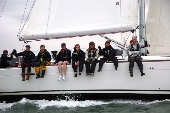 Hamble, UK: Round The Island Race 2017