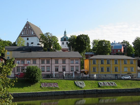 Porvoo, Finland: View of the town