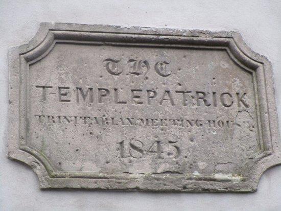 Templepatrick, UK: Mid nineteenth century.