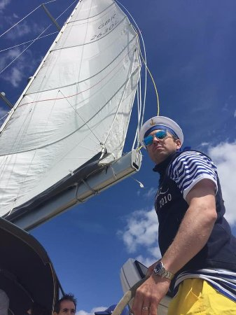 Hamble, UK: It's a Nice Day for Sailing