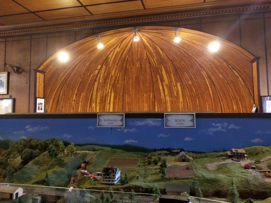 Brunswick, Мэриленд: small portion of model train exhibit
