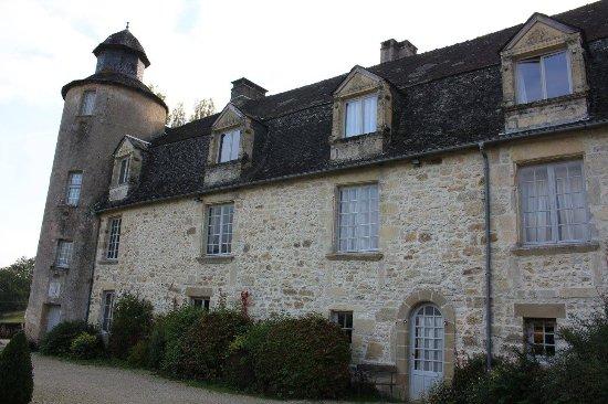 Terrasson-Lavilledieu, França: La casa.