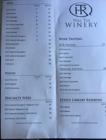 Great wine tasting and lunch
