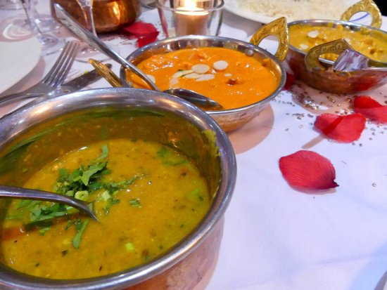 Nanteuil-lès-Meaux, France : Sautés indiens aux diverses viandes...