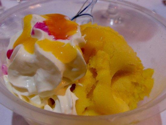 Nanteuil-lès-Meaux, France : Désert glacé...aux fruits exotiques