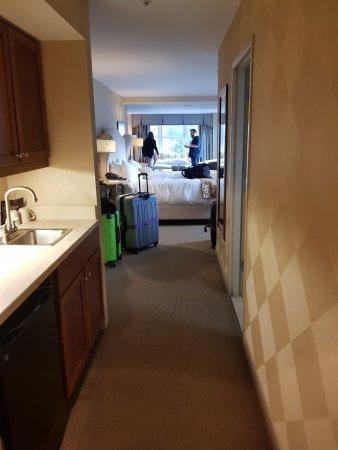 Skaneateles, NY: from the entry into the room