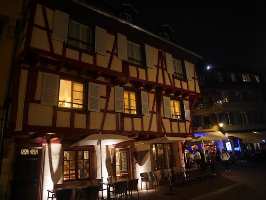 Old Town: Colmar by night