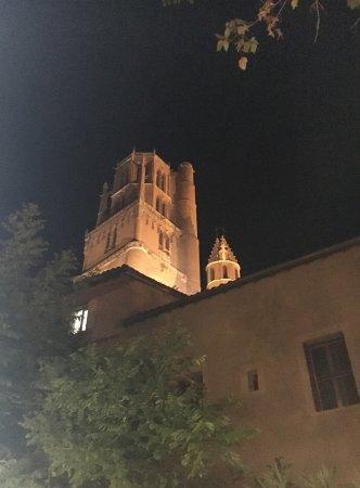 le Clos Sainte Cecile : The tower of Cathédral Sainte-Cécile