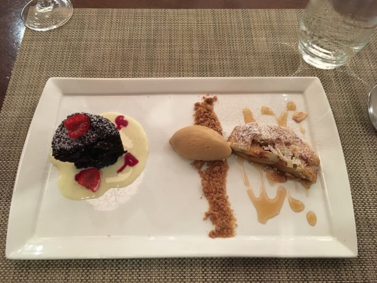 Tosca Restaurant: Fabulous dessert. Perfect ending to a wonderful meal.