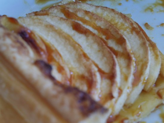 La Feclaz, France: Tarte aux pommes