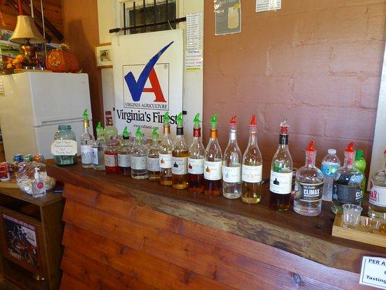 Culpeper, VA: Tasting Area