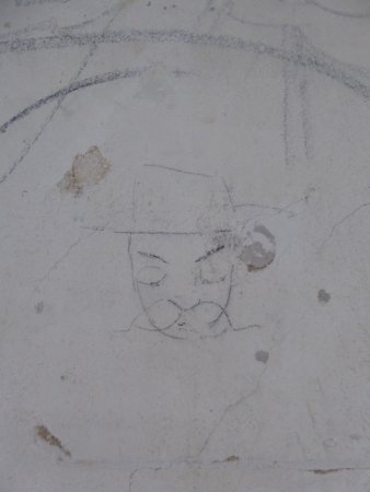 Brandy Station, VA: Face Graffiti
