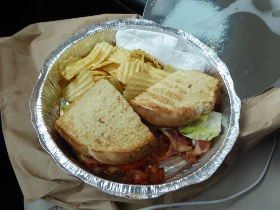 The Light Well: BLT with Chips