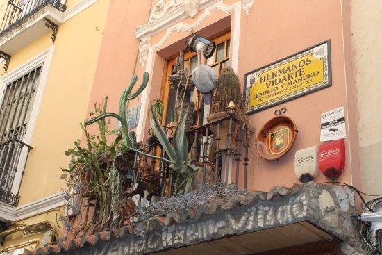 Бадахос, Испания: Curioso balcon