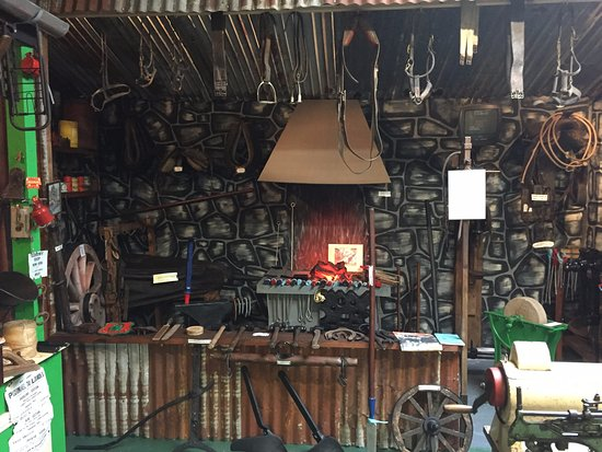Bruff, Ireland: The Blacksmith's forge