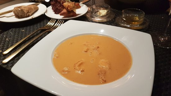 L'Atelier aux Aromes : Lobster Bisque