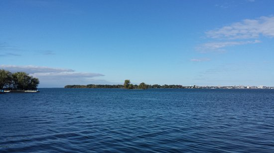 Wolfe Island, Kanada: View from the ferry