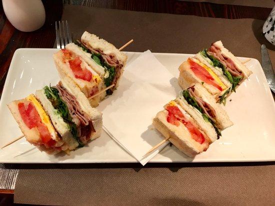 Sandwich Classico at Impronta Cafe