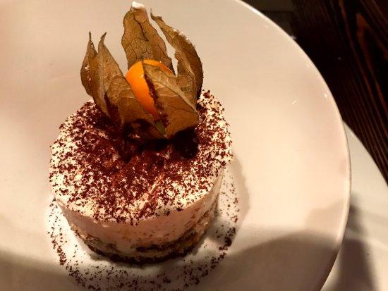 Tiramisu at Impronta Cafe