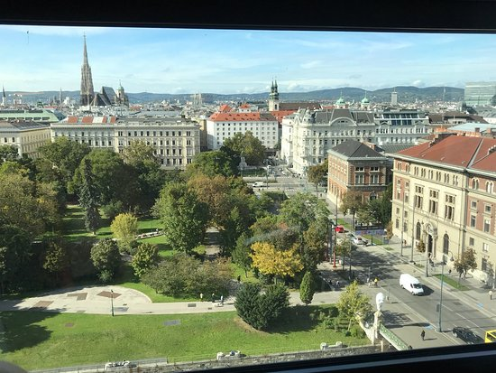โรงแรม ฮิลตัน เวียนนา: Best view , good location