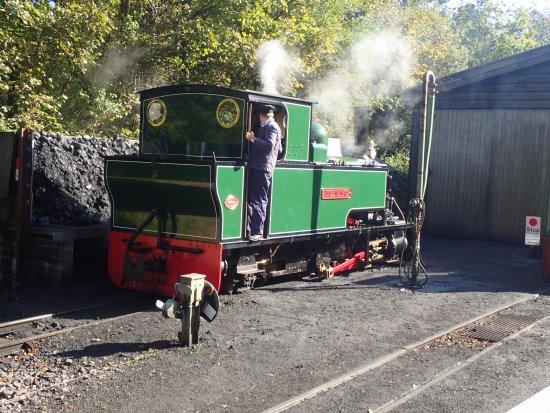Parracombe, UK: Woody Bay Railway