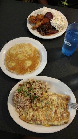 Tip Top Motel: Ono omlette and banana pancake