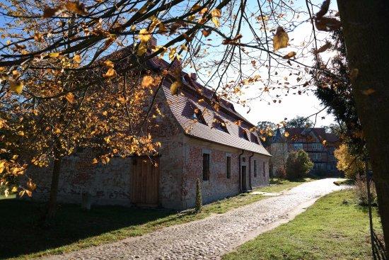 Tangerhutte, Niemcy: Park und Herrenhaus Briest - ehemalige Brauerei