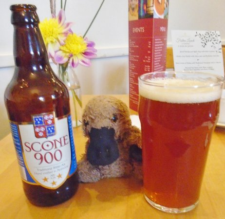 Scone Palace: Their own beer.
