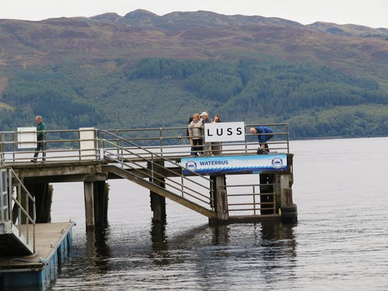 Luss, UK: Dock at Loc Lomond