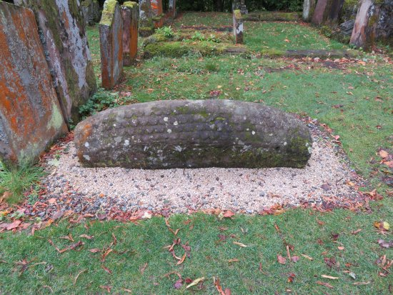 Luss, UK: Viking grave