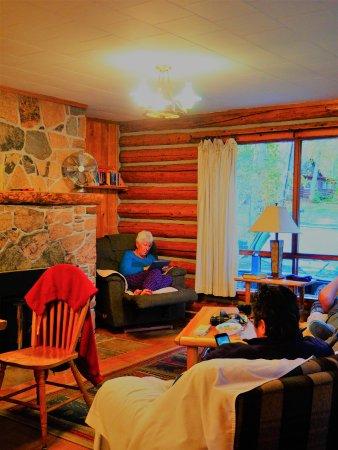Whitney, แคนาดา: Livingromm cabin #5