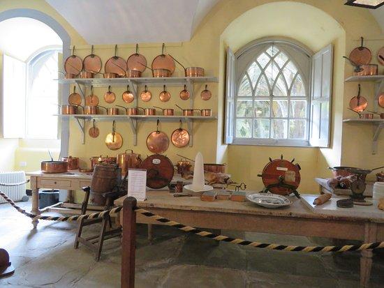 Inveraray, UK: kitchen