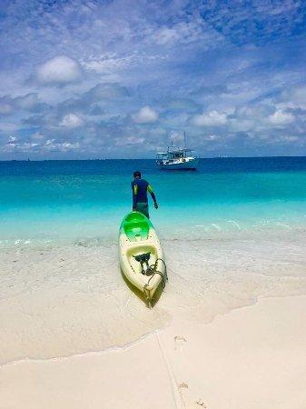 Hulhumale: Kayaking