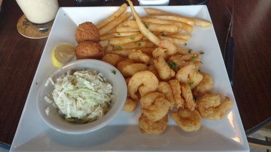 Nokomis, FL: Fried Gulf Shrimp Dinner