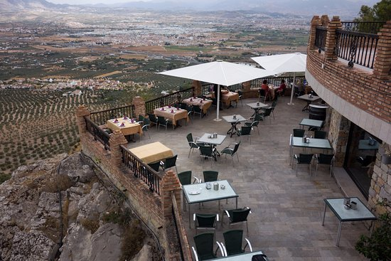 Atarfe, España: Outside terrace of Ermita de los Tres Juanes